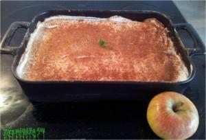 apple tiramisu