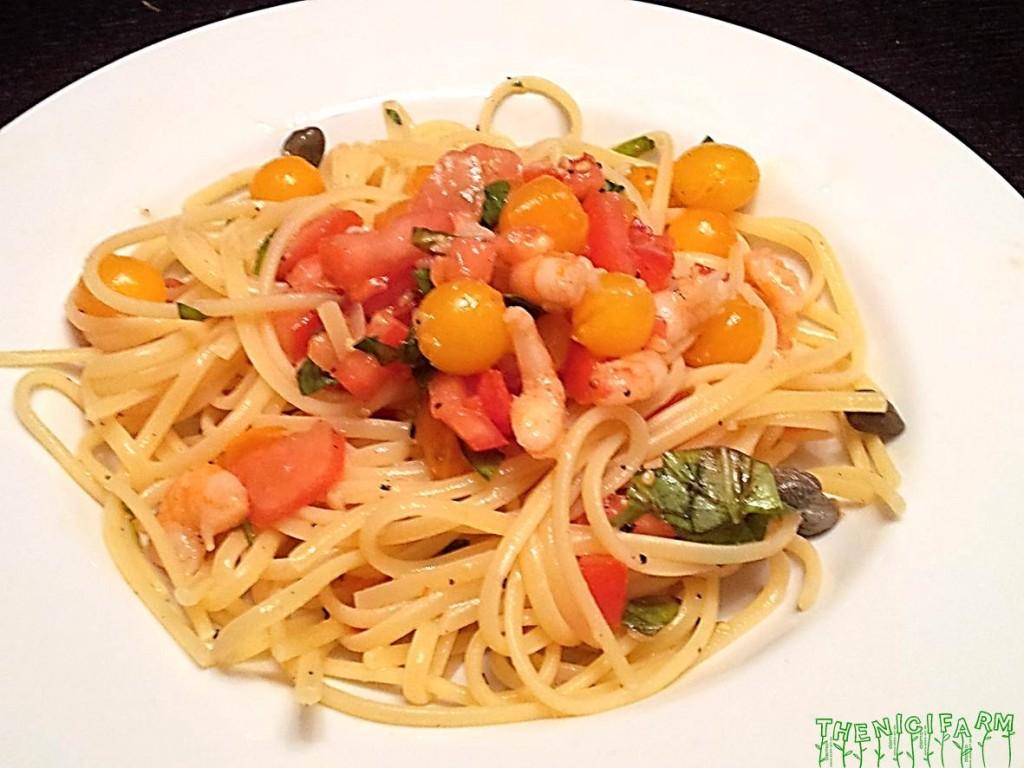 Shrimp spagetti
