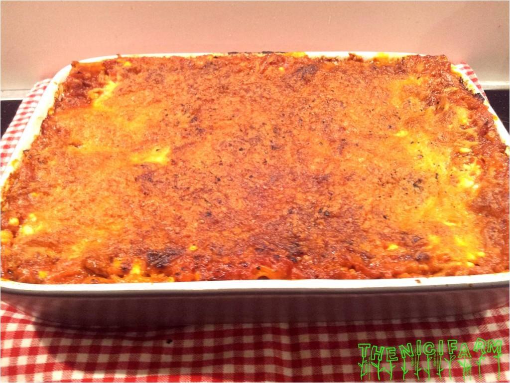 Tuna-Lasagne