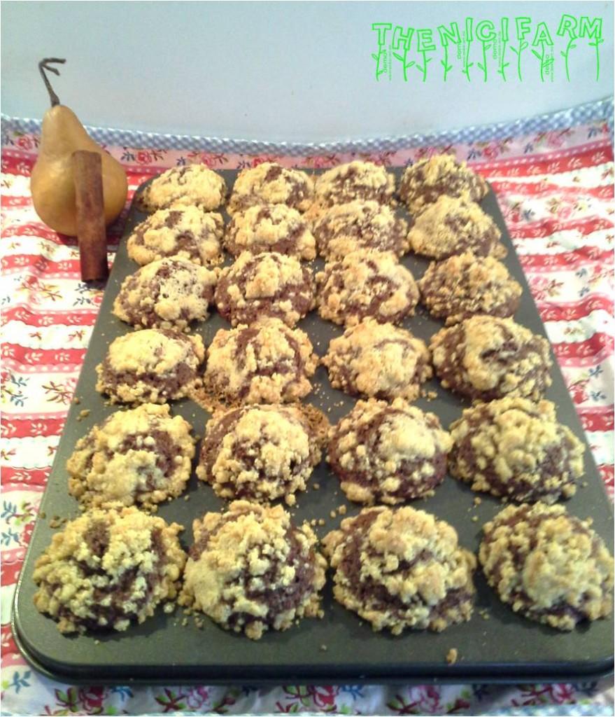 Birnen-Zimt-Muffins